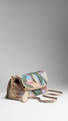 Sac The Petal en cuir peint à la main | Burberry 1395,00€