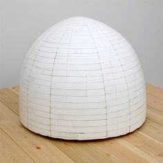 Hiroyuki Hamada #52 2002-08 21 diameter x 19  inches Materials: Enamel, oil, plaster, tar and wax