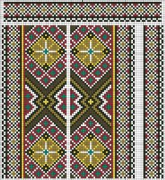 ru / Inserts for men's shirts - Inserts for men's shirts - valentinakp Cross Stitch Embroidery, Cross Stitch Patterns, Beading Patterns, Knitting Patterns, Embroidery Techniques, Pixel Art, Bohemian Rug, Weaving, Quilts