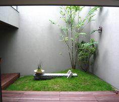 small space garden Modern Landscaping, Garden Landscaping, Japan Garden, Garden Deco, Backyard, Patio, Small Space Gardening, Amazing Spaces, House Extensions