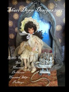 Haunted Ship Pulltoy 2   for dolls by Shari by ShariDeppDesigns