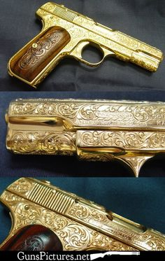 gold bling | Gun Bling Round 1, Number 5 | Guns Pictures
