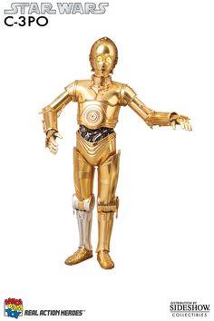 Figura Star Wars. C-3PO RAH, 28cm, con luz y sonido