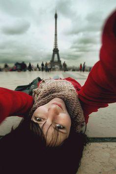 Selfportrait with Eiffel by Nastia Sokolova on 500px
