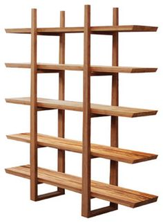 Greenington Magnolia Shelf in Exotic Bamboo - modern - Bookcases - Beyond Stores