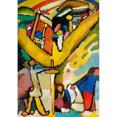 Kandinsky Art, Wassily Kandinsky Paintings, Kandinsky Prints, Franz Marc, Expensive Art, First Art, Art Moderne, Art Abstrait, Art Auction