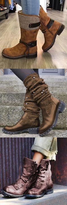 avvio Calf Mid Up Lace Buckle Western Mens Fashion Desert