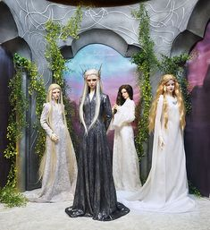 elven dolls, lord of the rings