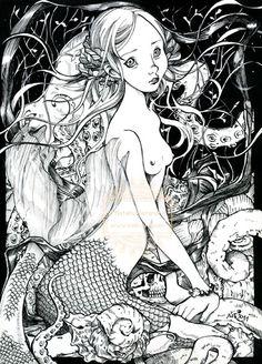 Natalia Pierandrei - Little Mermaid - Gothology III