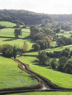 Gloucestershire, home of my g-grandmother Henrietta Hill Pixton.