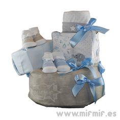 """Tarta de Pañales """"Petit Éléphant Cake"""" disponible en http://www.mifmif.es"""