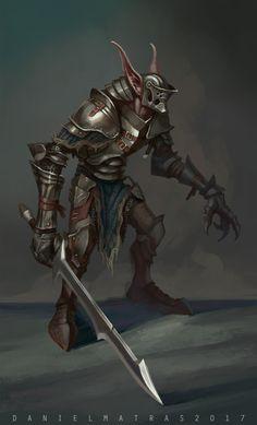 ArtStation - Goblin Knight, Daniel Matras