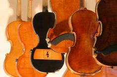 classic and electric violins