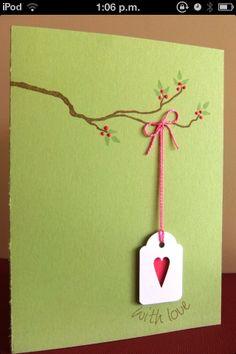 Cute tag card
