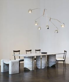 Dinning Table, Dining Rooms, Modern Spaces, Constellations, Living Room Decor, Flooring, Rick Owens, Google Search, Workshop