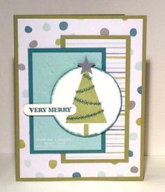 Stampin Up! Festival of trees, And Many
