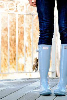 hunter rain boots!!!