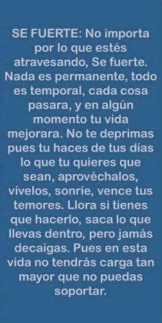 185 best beautiful spanish quotes images in 2019 Great Quotes, Me Quotes, Motivational Quotes, Inspirational Quotes, Journey Quotes, The Words, More Than Words, Positive Thoughts, Positive Quotes