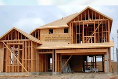WASHINGTON/May 2017 (AP) (StlRealEstate. builders trimmed construction spending slightly in March, one month after building activity hit an all-time high. Construction spending slipped percent in March to a seasonally adjust. House Under Construction, Wood Construction, Construction Companies, Residential Construction, Build My Own House, Buy House, Bamboo House Design, Casas Containers, Building A New Home