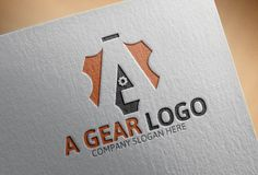 A Gear Logo by Josuf Media on Creative Market