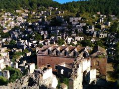 Combine #Fethiye market with visit to abandoned Greek settlement Kayakoy (ghost town) on our tour from #Fethiye. #Hisaronu and #Oludeniz!