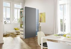 Mobile multifunctional panels that help you divide a room
