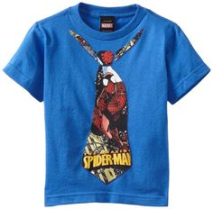 Spiderman Little Boys' Necktie Web Regular Tee, Royal, Small Spiderman http://www.amazon.com/dp/B009I4Z4GY/ref=cm_sw_r_pi_dp_GYvSub0GQWNVV