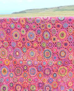 Ravelry: Kissing Circles & Kaffe Blankets by Amanda Perkins
