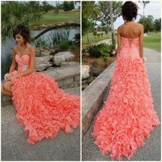 Great dress, great color.