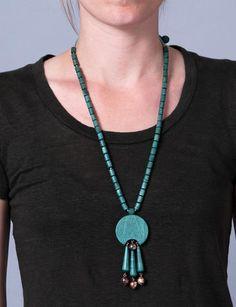 Aarikka Finland wood necklace