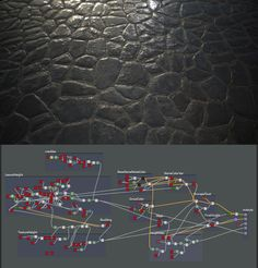 ArtStation - Procedural Medieval Cobblestone floor - Substance Designer, Hugo Beyer