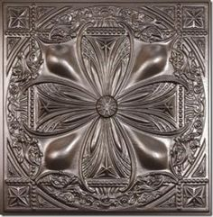 Southwestern inspired pressed tin tile | Stylish Western Home Decorating
