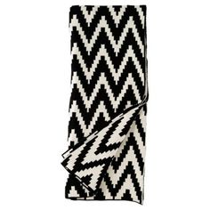 Check out this item at One Kings Lane! Mercer Cotton Throw, Black