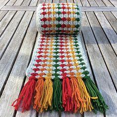 Super Granny Scarf - free crochet pattern by Cotton Pod