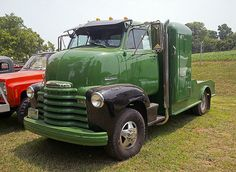 1953 Chevy Cabover custom truck | With a 454 Big Block under… | Flickr