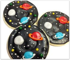 space cookies on Pinterest | Rocket Ships, Outer Space and Spaceships