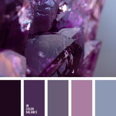 Color Palette Very cold and well-balanced colour gamma includes blue-gray, lavender, charcoal, purple, blackberry. Despite of the fact that purple and blackberry are pre. Bedroom Color Schemes, Bedroom Colors, Colour Schemes, Color Patterns, Color Combos, Bedroom Ideas, Gray Bedroom, Trendy Bedroom, Master Bedroom
