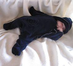 Star Shaped Baby Wrap Blanket. $29.95, via Etsy.