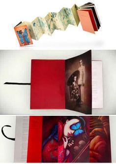C'era una volta - Libro pop-up di Benjamin Lacombe - Rizzoli 2015 - Recensione - Madame Butterfly - Rizzoli 2014 - Paravento