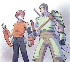 Fox and Yatsuhashi