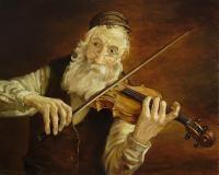 Violin Player by Boris Dubrov