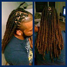 Dread Styles by Goldie Locs Creation Twist