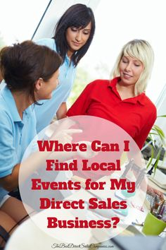 Attending local events as a vendor can be a great way to grow your direct sales business. Many direct sellers aren't sure where to find these expos however. Here are a few places to spot vendor events and tips for making them a success.