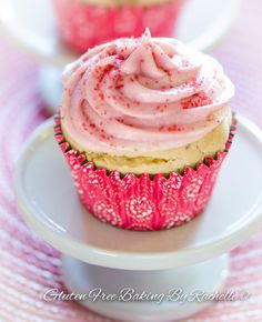 Gluten Free Vegan Strawberry Lemon Shortcake Cupcakes