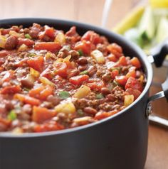 Here's an idea. Bring a pot of Billy's Chili to simmer and let it cook during the first half of the game. It's sure to be ready to dive into by the time halftime starts.