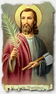 Saint Jude - Patron Saint of Lost Causes
