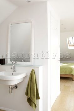 En suite bathroom in selfcontained London attic conversion