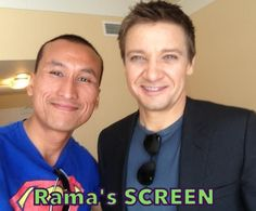 With Jeremy Renner a.k.a #Hawkeye #AvengersAgeOfUltron #TheAvengers #JeremyRenner   Please LIKE Facebook.com/ramascreen for all things movies