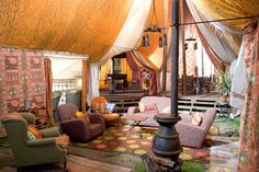 Yep I wanna make the Weasley tent in my home.