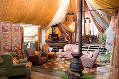 Yep I wanna make the Weasley tent in my home.